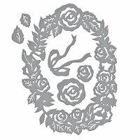 Spellbinders - Flower Garden Collection - Shapeabilities Dies - Dimensional Floral Panel