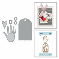 Spellbinders - Sew Sweet Collection - Shapeabilities Dies - From Heart and Hand