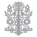 Spellbinders - Folk Art Collection - Shapeabilities Dies - Nordic Tree