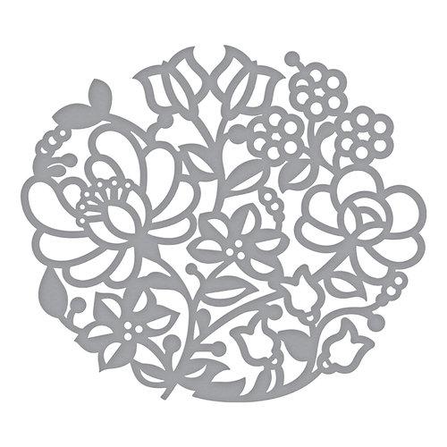 Spellbinders - Folk Art Collection - Shapeabilities Dies - Floral Mandala