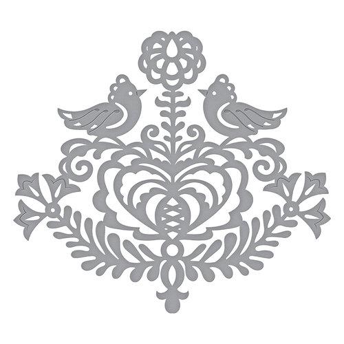 Spellbinders - Folk Art Collection - Shapeabilities Dies - Rosemal Heart