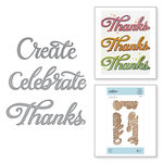 Spellbinders - On the Wings of Love Collection - Etched Dies - Words