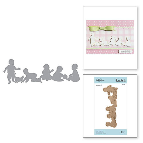 Spellbinders - Little Loves Collection - Etched Dies - Baby