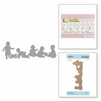 Spellbinders - Little Loves Collection - Etched Dies - Baby's Playtime