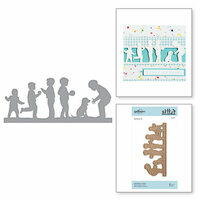 Spellbinders - Little Loves Collection - Etched Dies - Little Boys at Play