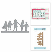 Spellbinders - Little Loves Collection - Etched Dies - Away We Go