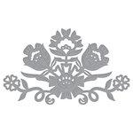 Spellbinders - Folk Art Collection - Shapeabilities Dies - Floral Bouquet