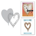 Spellbinders - On the Wings of Love Collection - Etched Dies - Love Frame