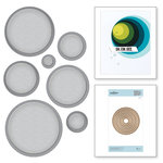 Spellbinders - Nestabilities Collection - Etched Dies - Scored and Pierced Circles