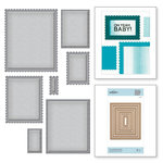 Spellbinders - Nestabilities Collection - Etched Dies - Fancy Edged Rectangles