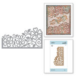 Spellbinders - Blooming Garden Collection - Etched Dies - Side Floral Panel
