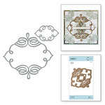Spellbinders - Romancing the Swirl Collection - Shapeabilities Dies - Trefoil Crest
