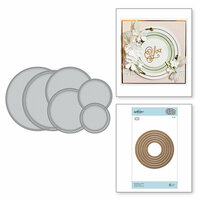 Spellbinders - Romancing the Swirl Collection - Nestabilities Dies - Hemstitch Circles