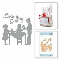 Spellbinders - A Sweet Christmas Collection - Shapeabilities Dies - Love and Cookies