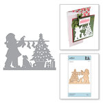 Spellbinders - A Sweet Christmas Collection - Shapeabilities Dies - Hanging Stockings