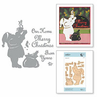 Spellbinders - A Sweet Christmas Collection - Shapeabilities Dies - From Our Home to Yours