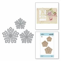 Spellbinders - Special Moments Collection - Shapeabilities Dies - Laced Flowers