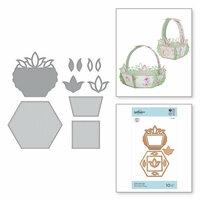 Spellbinders - Exquisite Splendor Collection - Shapeabilities Die - Tulip Flower Box