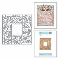 Spellbinders - Exquisite Splendor Collection - Shapeabilities Die - Leaf Border Frame