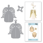 Spellbinders - A Charming Christmas Collection - Shapeabilities Dies - 3D Angel Ornament