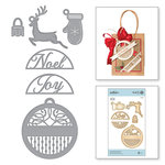 Spellbinders - A Charming Christmas Collection - Shapeabilities Dies - Round Tag