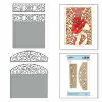 Spellbinders - A Charming Christmas Collection - Shapeabilities Dies - Snowflake Toppers