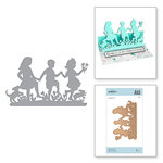 Spellbinders - Great, Big, Wonderful World Collection - Shapeabilities Die - Dance for Joy