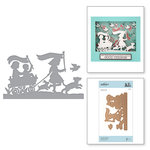 Spellbinders - Great, Big, Wonderful World Collection - Shapeabilities Die - Join the Parade