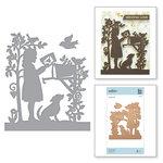 Spellbinders - Great, Big, Wonderful World Collection - Shapeabilities Die - Sweet Letters