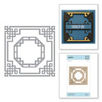 Spellbinders - Destination China Collection - Shapeabilities Die - Chinese Knot Frame