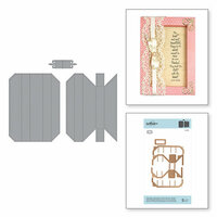 Spellbinders - Shadowbox Collection - Shapeabilities Die - Adjustable Shadowbox Frame with 0.75 Inch Border