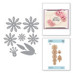 Spellbinders - Vintage Treasures Collection - Shapeabilities Dies - Etched Dies - Cinch and Go V