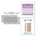Spellbinders - Vintage Treasures Collection - Shapeabilities Dies - Etched Dies - Delicate Tendril Border