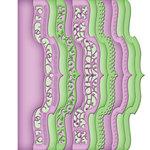 Spellbinders - Borderabilities Collection - Die - Card Creator - A2 Bracket Borders Two