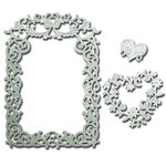 Spellbinders - Nestabilities Collection - Die - Decorative Frames - Floral Affair