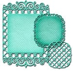 Spellbinders - Nestabilities Collection - Die - Labels Forty Seven - Decorative Element
