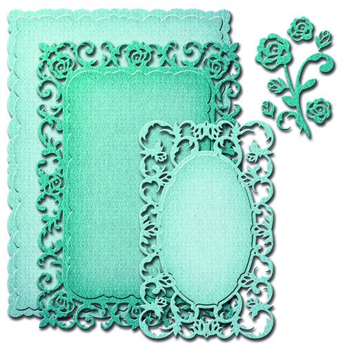 Spellbinders - Nestabilities Collection - Die - Romantic Rose