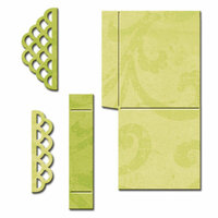 Spellbinders - Shapeabilities Collection - Die - Scalloped Pop Up Box