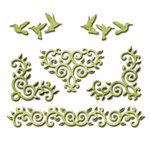Spellbinders - Shapeabilities Collection - Die - Draping Vines Elements