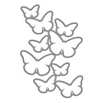 Spellbinders - Donna Salazar Collection - Shapeabilities Die - Cascading Butterflies
