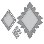 Spellbinders - Art Deco Collection - Nestabilities Die - Ritz Decorative Accent