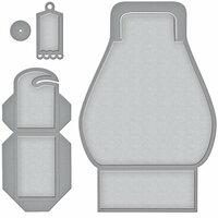 Spellbinders - Wedding Collection - Shapeabilities Die - Favorably Simple Gift Box