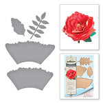Spellbinders - Wild and Free Collection - Shapeabilities Die - Ruffled Flowers