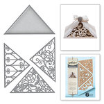 Spellbinders - Rouge Royal Collection - Shapeabilities Dies - Triangle Fretwork