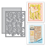 Spellbinders - Tropical Paradise Collection - Dies - Monstera Leaf Card Front