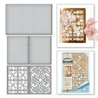 Spellbinders - Vintage Elegance Collection - Dies - Filigree Booklet