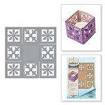 Spellbinders - Celebrate the Day Collection - Shapeabilities Dies - Tea Light Box