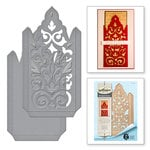 Spellbinders Rouge Royale Deux Damask Pocket Dies