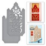 Spellbinders - Rouge Royale Deux Collection - Dies - Damask Pocket