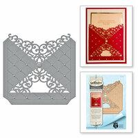 Spellbinders - Rouge Royale Deux Collection - Dies - Diamond Flourish Pocket